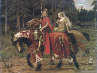 Where does the word chivalry come from