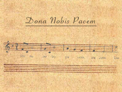 deo dona nobis pacem meaning