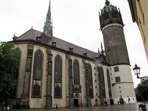 The Castle Church in Wittenberg, Germany
