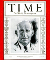 Time Magazine Sir Walter Eddington